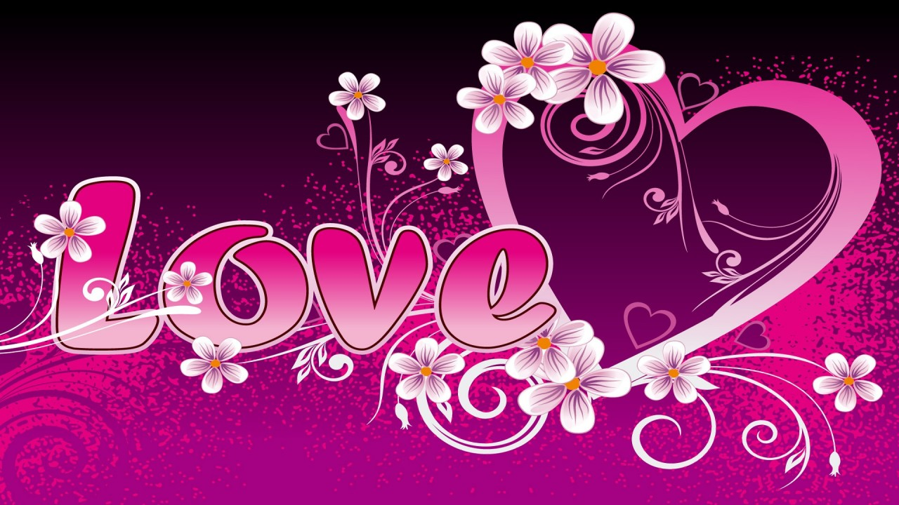 valentines day hearts hd wallpaper