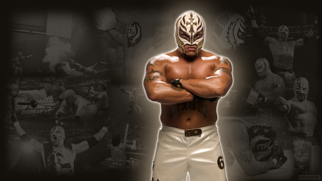 hd wallpaper rey mysterio one