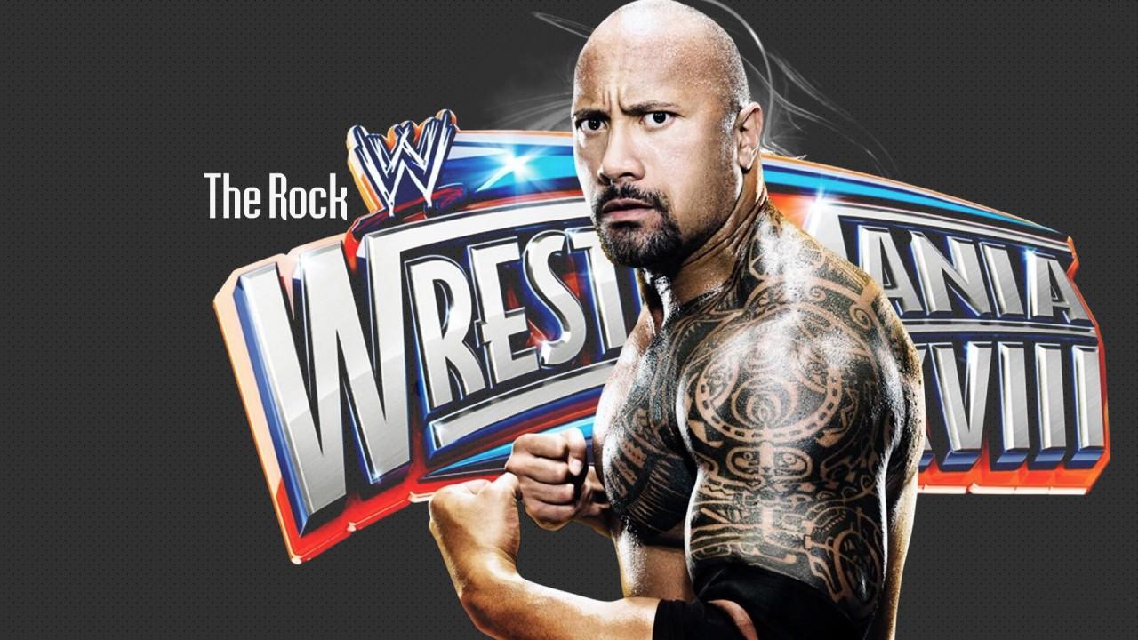 hd wallpaper wrestle mania the rock